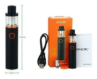 cigarrillo electronico vapeador smoke vape pen 22