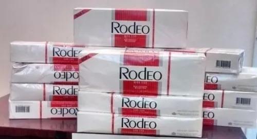cigarrillo rodeo por caja de 50 prec x mayor