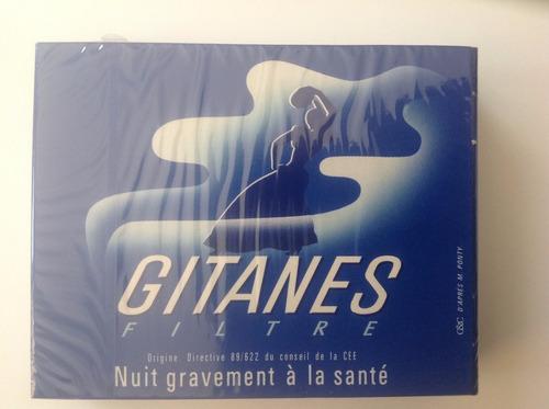 cigarrillos gitanes importados box de 20 sin filtro!!!