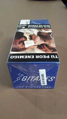 cigarrillos gitanes negros sin filtro importados de europa