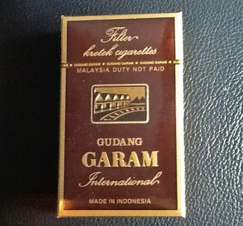 cigarrillos gudang garam chocolate
