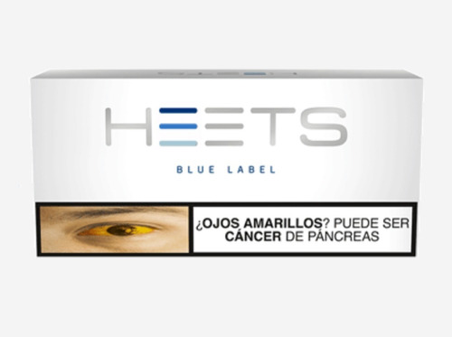 cigarrillos heets tabaco iqos blue label