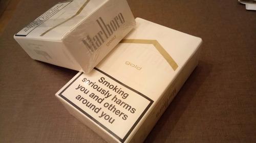 cigarrillos importados marlboro gold