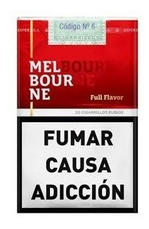 cigarrillos master / red point y melbourne