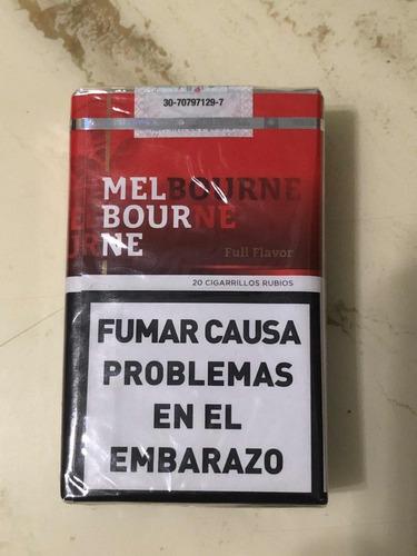 cigarrillos melbourne pack por 10