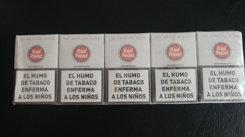cigarrillos red point box x 10 atados de 20 cigarrillos.
