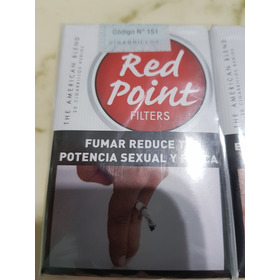 Cigarrillos Red Point Originales Pack X 10