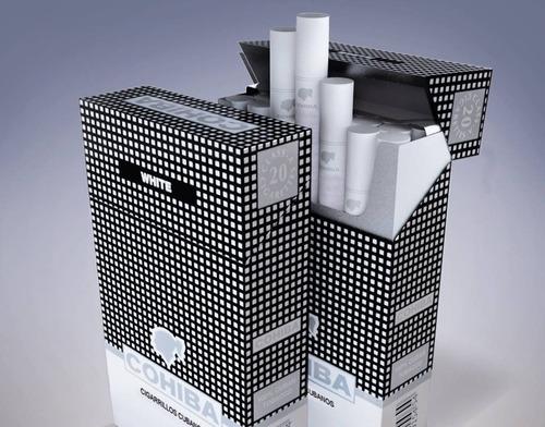 cigarrilos cohiba white cajetilla x 20  tabaco cubano