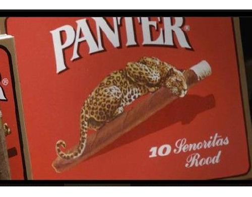 cigarro panter señoritas rood x10 puritos cigarros habanos