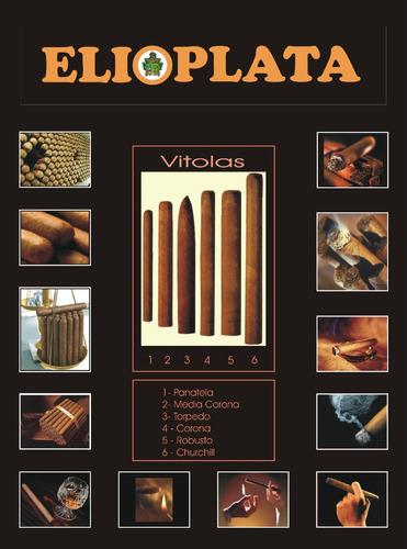 cigarros corona dominicano hoja entera, tripa larga (50)