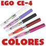 Cigarro Electronico Ego Ce4+liquido 10ml+cargador Oferta