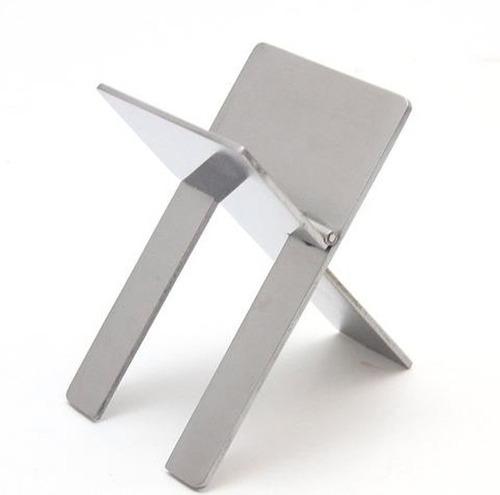 cigarros metal portable stand pie habanos plegable regalo