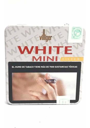 cigarros villiger mini habanos x 20u lata local once