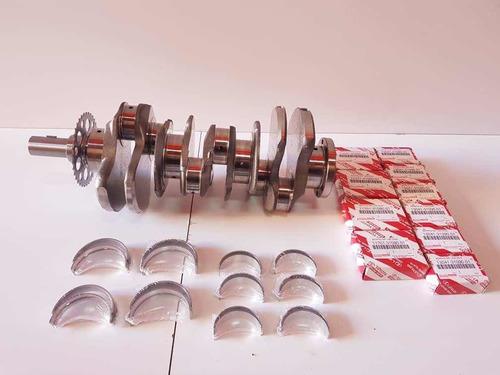 cigüeñal y conchas std originales toyota 4.0 1gr