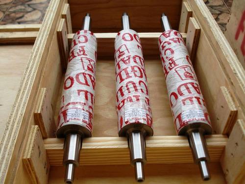 cilindro anilox cromado para maq. impr.banda estreita/larga
