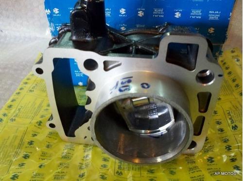 cilindro c/ kit piston bajaj rouser ns 200 original ap motos
