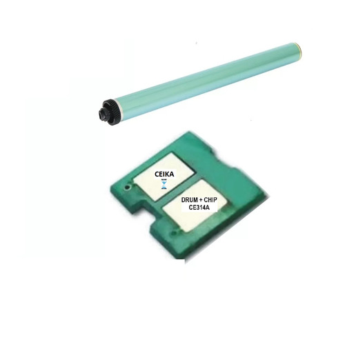 cilindro + chip hp 126a cp 1025 pro 100 m175 275 drum ce314a