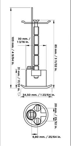 cilindro cisa para  maletas y puertas de carro