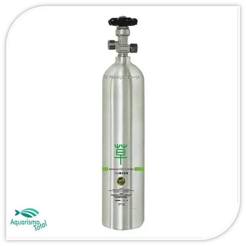 cilindro co2 recarregável macro 2 lts para aquário plantado