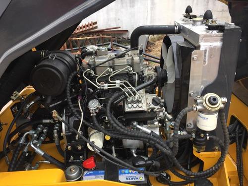 cilindro compactador, rodillo vibratorio, doble tambor