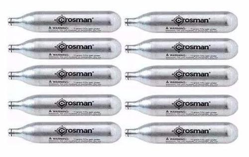 cilindro crosman co2 com 10 unidades