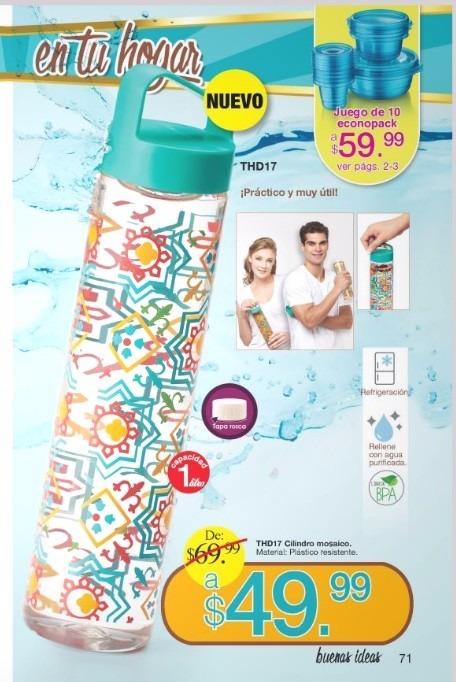 9f768ff565c9 Cilindro De Arabela Original-nuevo, 1l, Plástico Llevar Agua ...