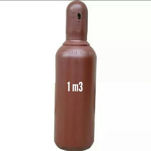 cilindro de argônio 1m3 7litros + regulador de pressão