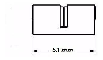 cilindro de fechadura soprano 53mm original