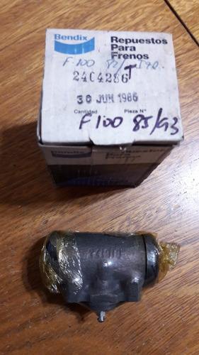 cilindro de freno rueda trasera izq ford f100 85 al 93