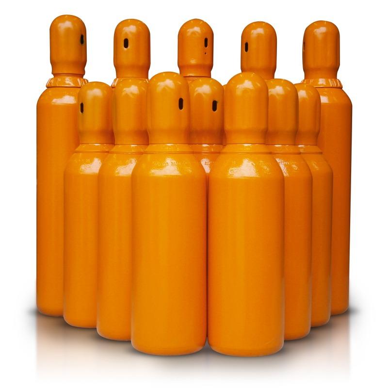 Cilindro de g s h lio 2m novo r 850 00 em mercado livre for Valor cilindro de gas