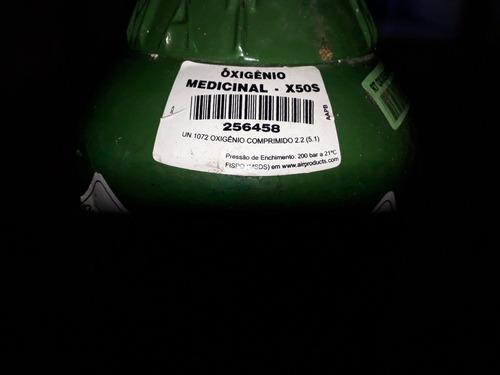 cilindro de oxigênio medicinal 5l