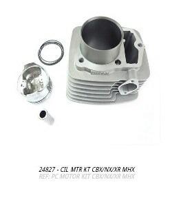cilindro do motor kit cbx nx e xr 200