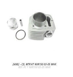 cilindro do motor kit nxr 2003 a 2005 mhx