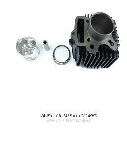 cilindro do motor kit pop 100 mhx
