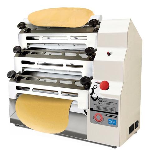 cilindro laminador massas elétrico pao pizza pastel + brinde