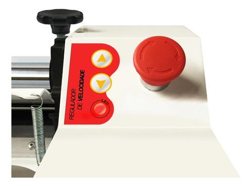 cilindro massa laminador eletrico pastel pão pizza 220v 110v