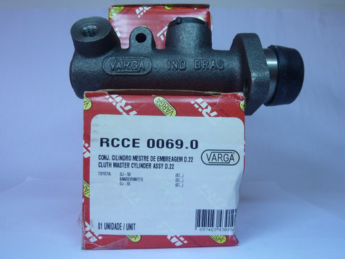 cilindro mestre embreagem bandeirante oj55 87/... rcce00690
