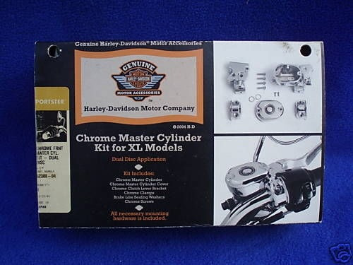 cilindro mestre harley davidson cromado com reservatorio