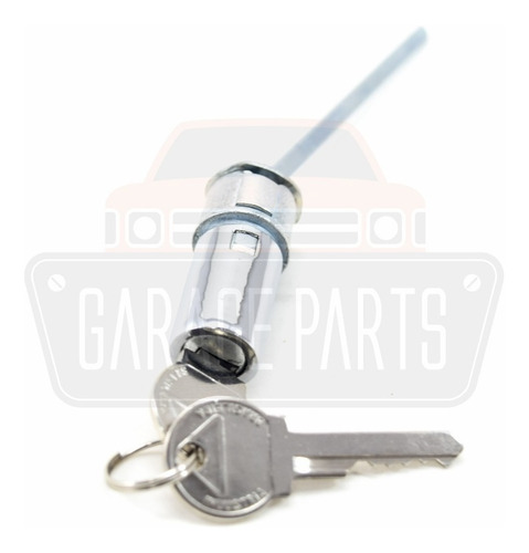 cilindro miolo botão maçaneta porta cromado opala / caravan