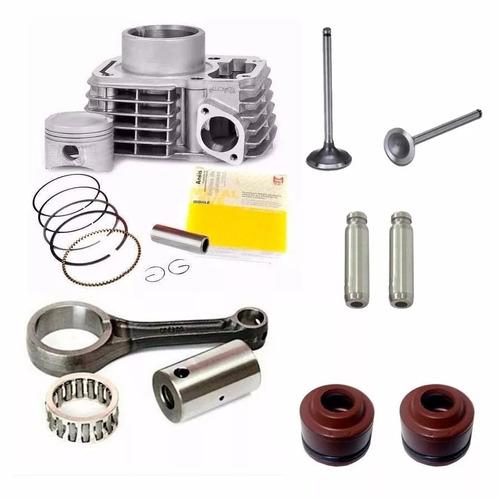 cilindro motor biela válvulas guias retentores cg titan 150