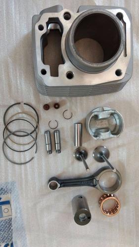 cilindro motor biela válvulas guias retentores cg titan150