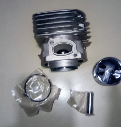 cilindro pistón y anillos motosierra husqvarna 365 cuadrado