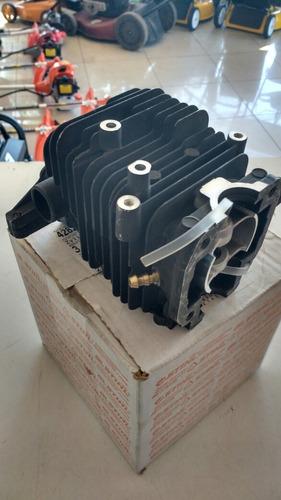 cilindro piston y aros stihl br 600 original!