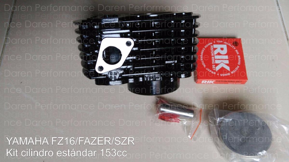 Cilindro Piston Yamaha Fz16 Fazer Szr Kit Piston Anillos