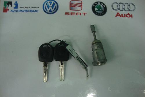cilindro porta c/ chave original vw fox polo 6q4837167e