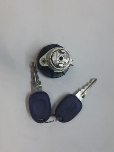 cilindro porta mala marea c/ 02 chave original valeo