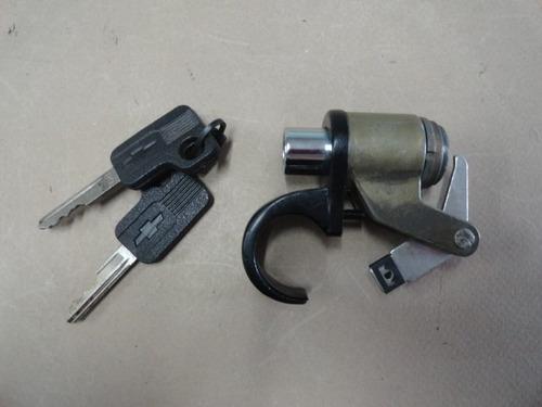 cilindro porta malas caravan 75 à 87 com 02 chaves chevrolet