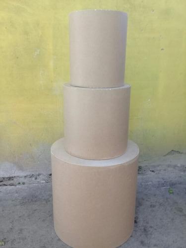 cilindros en mdf