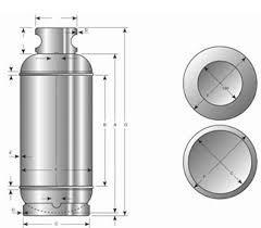 cilindros para gas, montacargas, carburación, aire - nuevos