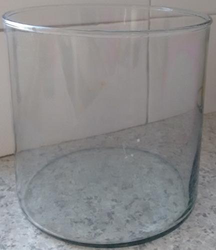 cilindros y/o floreros de vidrio